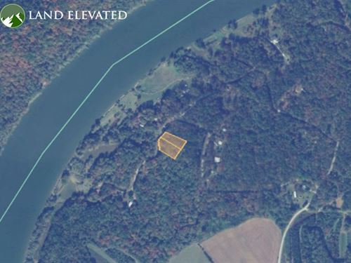 Great Secluded Land in Lincoln, AL : Lincoln : Talladega County : Alabama
