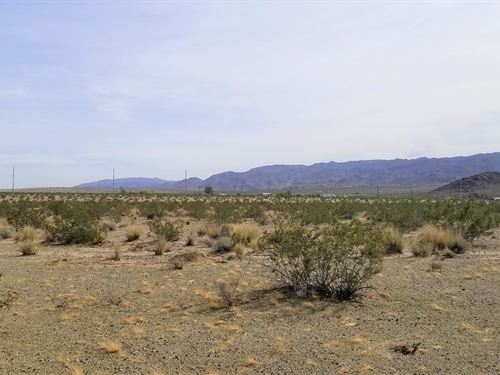 Views, Access, Affordable, $277/Mo : Twentynine Palms : San Bernardino County : California