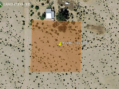 Rural Desert Property, 1.11 Acres : Twentynine Palms : San Bernardino County : California