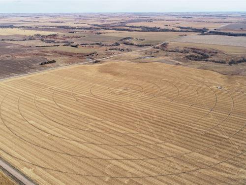 Gosper County Pivot And Range : Holbrook : Gosper County : Nebraska