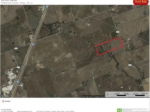 47 Acres, CR 303, Jarrell : Jarrell : Williamson County : Texas