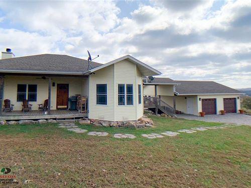 Beautiful Custom Built Home And 5 : Falcon : Wright County : Missouri