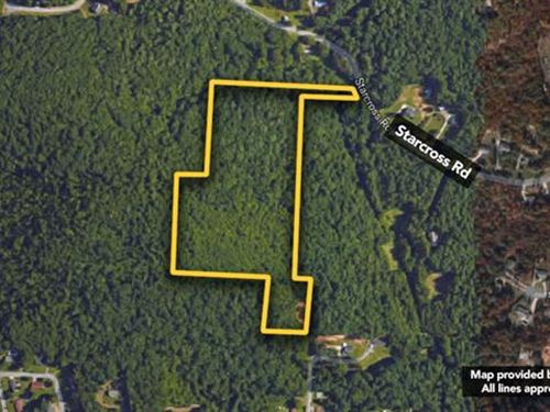 18.74 Acres of Vacant Land : Lenoir : Caldwell County : North Carolina