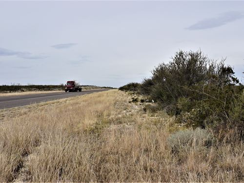 7.66 Acres Land Nw Fort Stockton : Fort Stockton : Pecos County : Texas