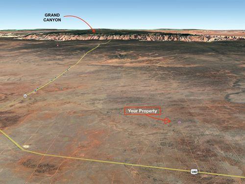 2.5 Acres Lot Near Grand Canyon : Williams : Coconino County : Arizona