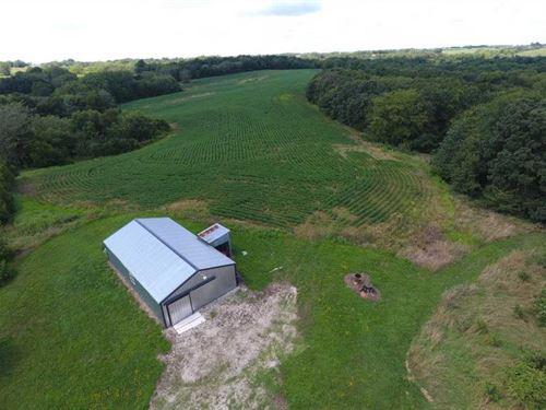Sullivan County Cabin & 40 Acre : Browning : Sullivan County : Missouri