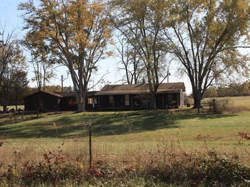 Missouri Country Home And Land : Greenville : Wayne County : Missouri