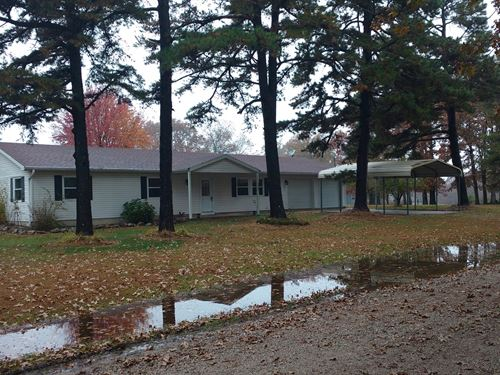 Private Country Home Hunting : Phillipsburg : Laclede County : Missouri