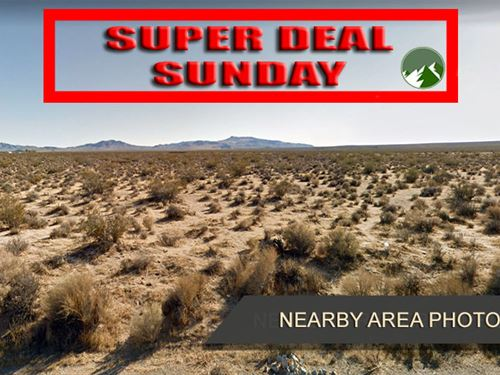 Promo Sale, 2.55 Acres in Kern, CA : Ridgecrest : Kern County : California