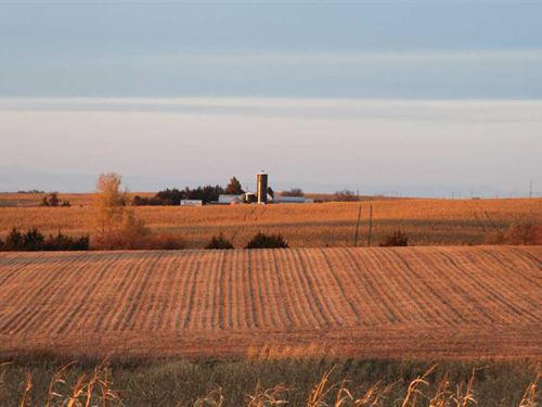 316.8 Acres, More or Less, Otoe CO : Unadilla : Otoe County : Nebraska