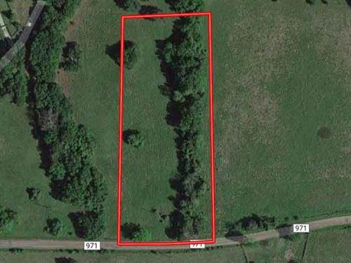 2.5 Acres in Freestone County, TX : Wortham : Freestone County : Texas