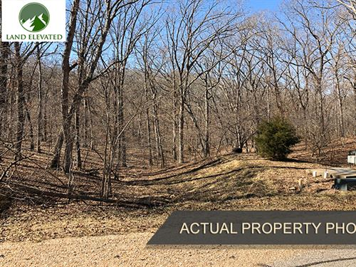 Build Close to Lake of The Ozarks : Sunrise Beach : Camden County : Missouri