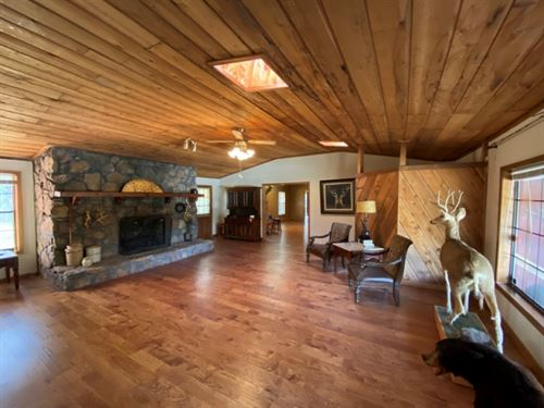 13.48 Acres With A Lodge In Montgom : Winona : Montgomery County : Mississippi