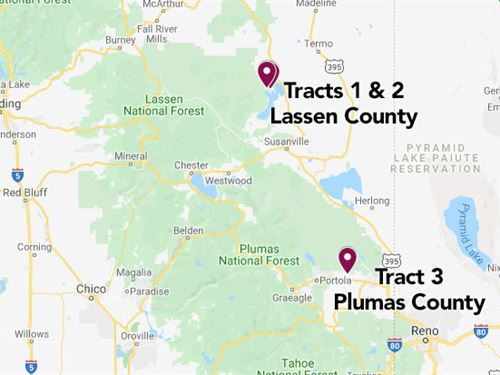 981 Ac in Lassen Countya ra : Selling Separately : Lassen County : California