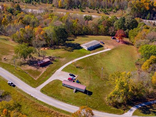 Wonderful Horse Farm Sought After : Santa Fe : Maury County : Tennessee