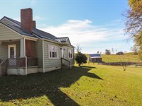 Country Home Open Pastureland : Copper Hill : Floyd County : Virginia