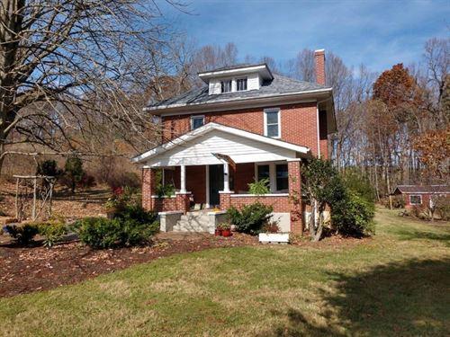 Brick Home in Copper Hill VA : Copper Hill : Floyd County : Virginia