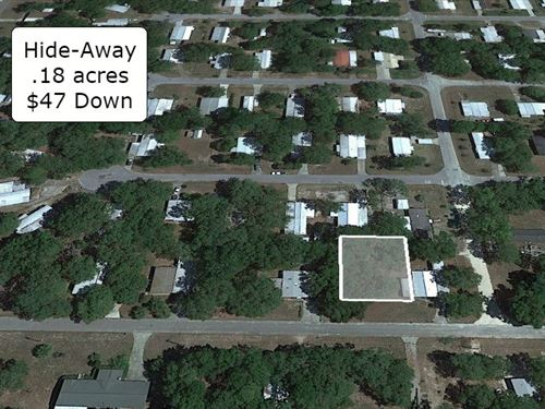 .18 Acre Cleared Lot Near River : Chiefland : Levy County : Florida