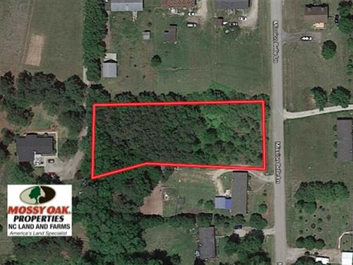 .87 Acre Residential Lot For Sale : Zebulon : Wake County : North Carolina