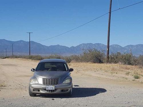 Nice Views, Great Access, $195 P/Mo : Llano : Los Angeles County : California