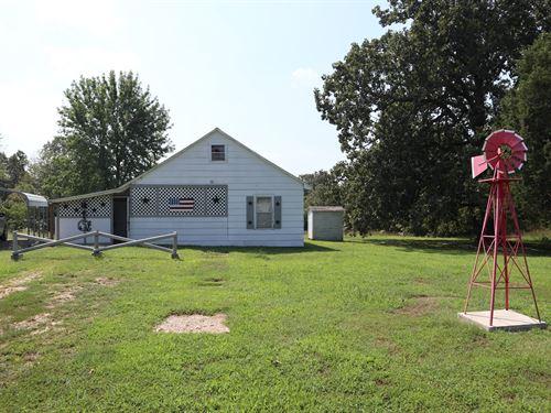 Country Home & Acreage in Viola, AR : Viola : Fulton County : Arkansas
