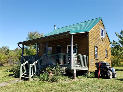 Southern Tier Cabin With Views : Smyrna : Chenango County : New York