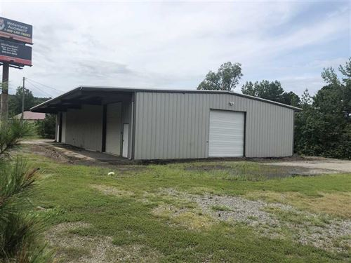 Motivated Seller, Commercial Prope : Heber Springs : Cleburne County : Arkansas