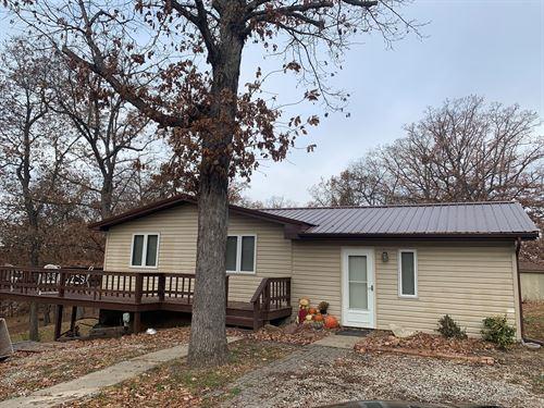 2 Bedroom Lake Thunderhead Home : Unionville : Putnam County : Missouri