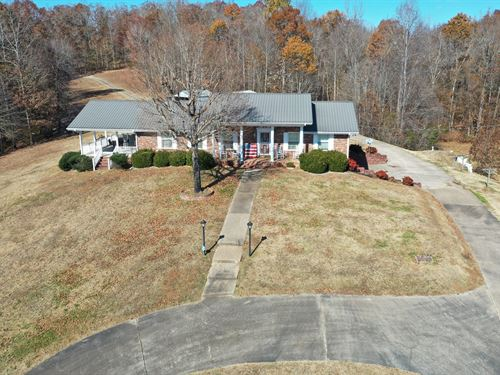 Brick Country Home Basement 14.2 : Linden : Perry County : Tennessee