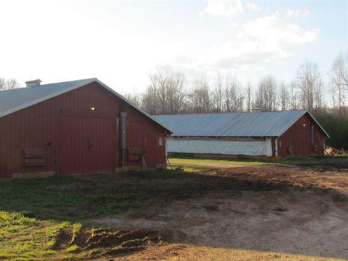 Banks County, Ga, Poultry Farm : Alto : Banks County : Georgia