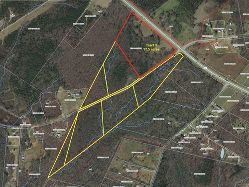 Residential Setting Hwy Frontage : Belton : Greenville County : South Carolina