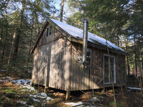 Hunting Base Camp Near Adirondacks : Salisbury : Herkimer County : New York