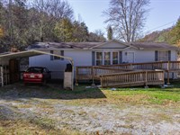 Manufactured Home Near Norris Lake : New Tazewell : Claiborne County : Tennessee