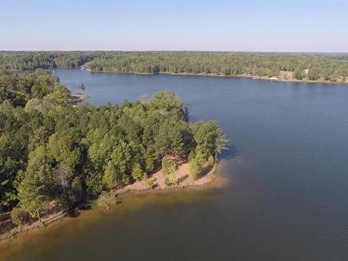 Shady Waterfront Lot : Huntingdon : Carroll County : Tennessee