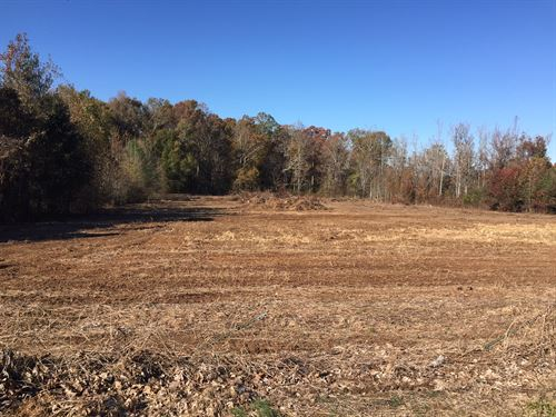 Partially Cleared 5.5 Acres : Manchester : Coffee County : Tennessee