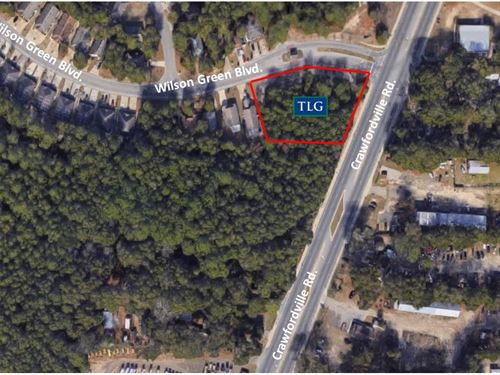.87 AC Crawfordville Rd : Tallahassee : Leon County : Florida