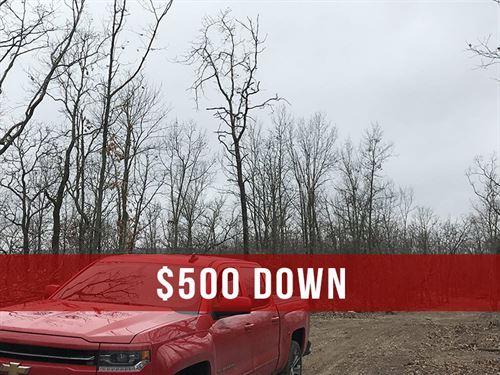 $500 Down on Rec Land : Ava : Douglas County : Missouri