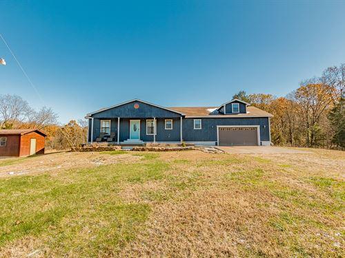 Country Home Just North Arkansas : Seligman : McDonald County : Missouri