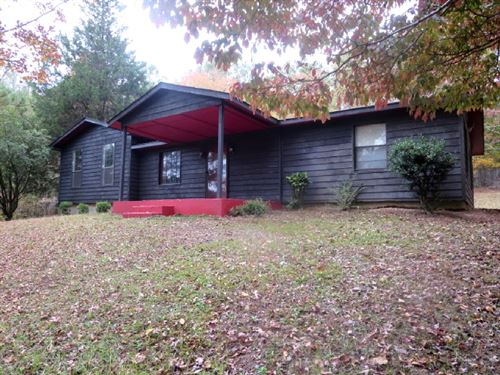 3 Br/1.5 BA Home And 2 Acres : Lineville : Clay County : Alabama