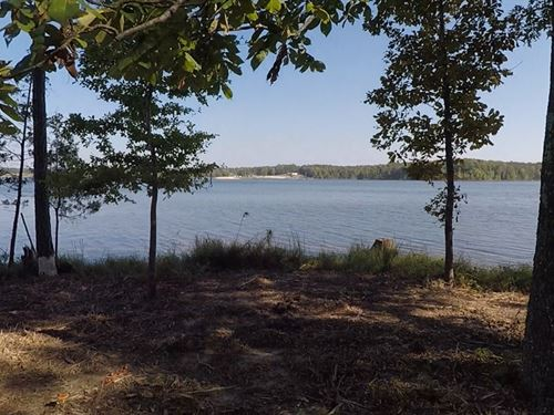 Wooded Waterfront Lot : Huntingdon : Carroll County : Tennessee