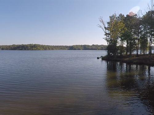 Beautiful Waterfront Lake Lot : Huntingdon : Carroll County : Tennessee