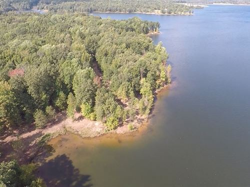 Wooded Waterfront Lake Lot : Huntingdon : Carroll County : Tennessee