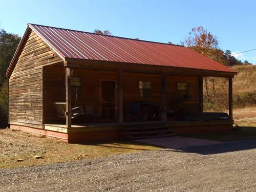 Cabin At Horsehead Lake : Clarksville : Johnson County : Arkansas