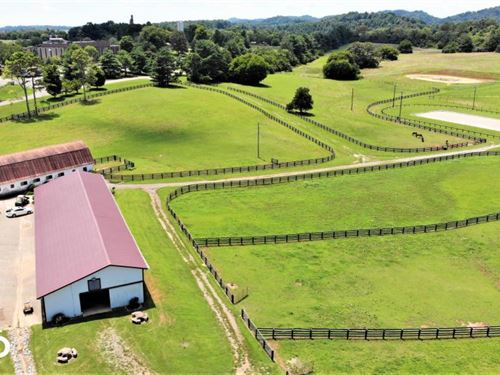 Hiwassee College Equestrian Propert : Madisonville : Monroe County : Tennessee