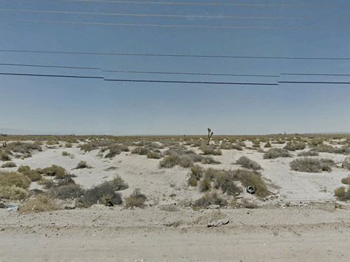 Rural Lot Near Cities, No 119 : Antelope Center : Los Angeles County : California