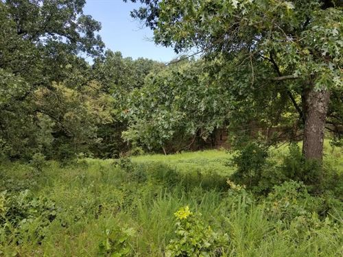 Wooded Land Gently Rolling Acreage : Goodman : McDonald County : Missouri
