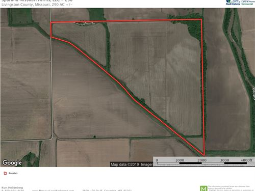 Investment Grade Tillable Row Crop : Chillicothe : Livingston County : Missouri