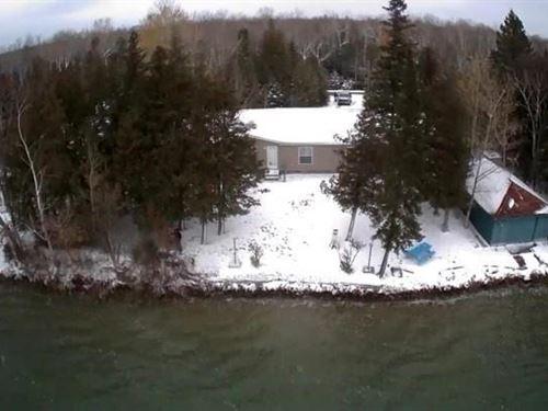 Presque Isle, Grand Lake : Presque Isle : Michigan