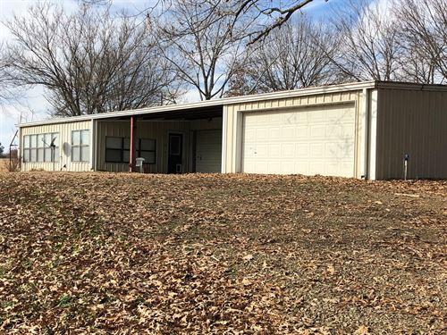 Hybrid Auction Kerr Lake Property : Sallisaw : Sequoyah County : Oklahoma