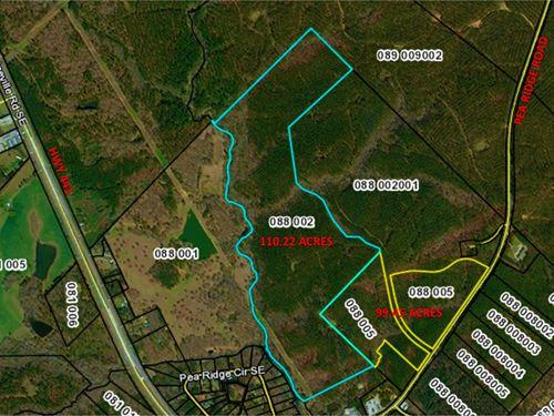 209.67 Acres Pea Ridge Rd, Putnam : Eatonton : Putnam County : Georgia
